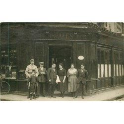 """93 BAGNOLET. Café Tabac """" JALES """" 199 rue de Vincennes devenue rue Robespierre"""