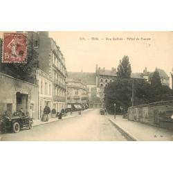2 x Cpa 41 BLOIS. Voiture devant Hôtel de France rue Gallois et Square Victor-Hugo