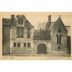 2 x Cpa 41 BLOIS. La Maison du Cardinal de Lorraine