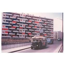 Photographie 93 BAGNOLET. Le Bus 115 sur le Pont vers rue Etienne d'Orves