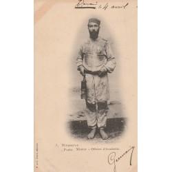 59 VALENCIENNES DENAIN. Mousseron Poête Mineur Officier d'Académie 1902