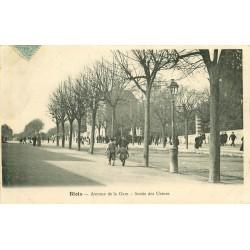 41 BLOIS. Sortie des Usines Avenue de la Gare 1904