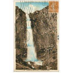 carte postale ancienne 15 FALHITOUX ou FAILLITOU. La Cascade vers 1923...