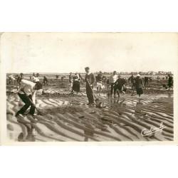 50 COUTAINVILLE. La Pêche au lançon 1938 pour Massy Photo Cpa