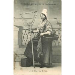 50 CHERBOURG. Le Départ pour la Pêche 1907