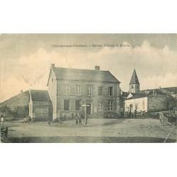 52 CHEZEAUX-SOUS-VARENNES. Maison d'Ecole et Mairie 1905