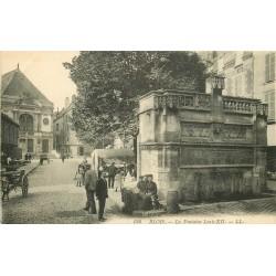 2 x Cpa 41 BLOIS. La Fontaine Louis XII 1934
