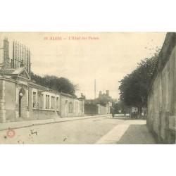 2 x Cpa 41 BLOIS. Recette Hôtel des Postes & Télégraphes