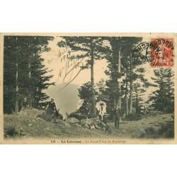 07 LA LOUVESC. Le Rond-Point de Rochelipe 1911