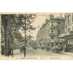 2 x Cpa 41 BLOIS. Pharmacie Cauchie et Mercerie Crappon rue Porte-Côté
