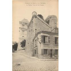 2 x Cpa 41 BLOIS. Terrasse, Vieille Tour et Degrés des Fossés du Château avec Collet Serrurier