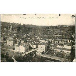 carte postale ancienne 15 LAROQUEBROU. Vue générale