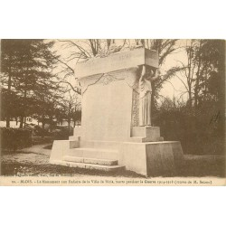 2 x Cpa 41 BLOIS. Monument aux Enfants de la Ville morts Guerre 1914-18 par Sicard