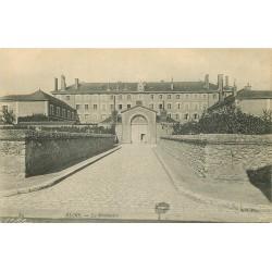 2 x Cpa 41 BLOIS. Le Séminaire et Cour Ecole Primaire de Jeunes Filles 1915