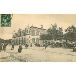41 BLOIS. Les Halles vers 1910