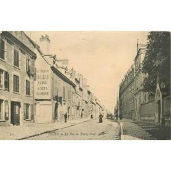 41 BLOIS. La rue du Bourg-Neuf