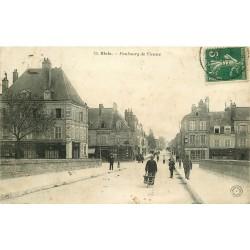 41 BLOIS. Faubourg de Vienne 1907 Café du Pavillon