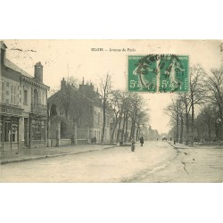 41 BLOIS. Café de France Avenue de Paris vers 1910
