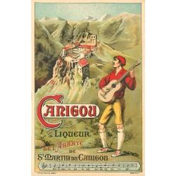 66 SAINT-MARTIN DU CANIGOU. Liqueur de l'Abbaye carte publicitaire