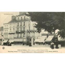 41 BLOIS. Hôtel du Château et magasin de cartes postales & photographies