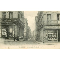 41 BLOIS. Mercerie Bonneterie rue de la Foulerie