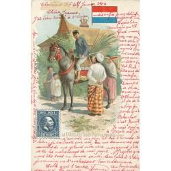 JAVA. La Poste aux Indes Néerlandaises 1904