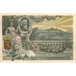 69 LYON. RF au Président 1907