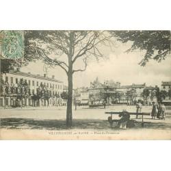 69 VILLEFRANCHE-SUR-SAONE. Place du Promenoir 1907