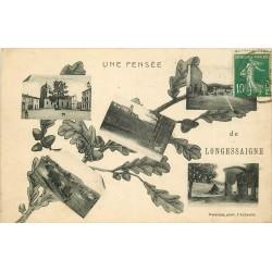 69 LONGESSAIGNE. Une Pensée multi-vues 1923