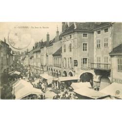 71 LOUHANS. Un Jour de Marché 1919