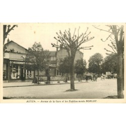 71 AUTUN. Etablissements Morlot avenue de la Gare 1939