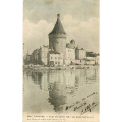 2 x Cpa 33 LIBOURNE. Tour du Grand Port sur l'Isle 1903 & 1904