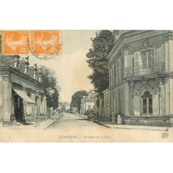 72 ECOMMOY. Café Restaurant avenue de la Gare 1923