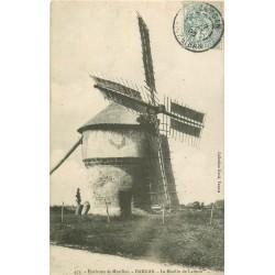 56 DAMGAN. Le Moulin à Vent de Larmor 1905