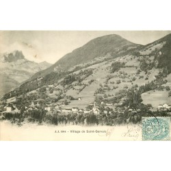 74 Village de Saint-Gervais 1904