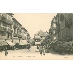 73 AIX-LES-BAINS. Grand Café et Hôtel de la Poste Place Carnot