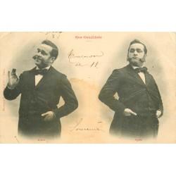 illustrateur BERGERET. Nos Candidats 1903 minuscule pli coin gauche