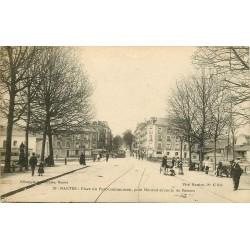 44 NANTES. Place du Pont-Communeau, Pont Morand route de Rennes 1919