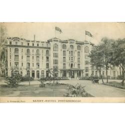 77 FONTAINEBLEAU. Savoy Hôtel 1913