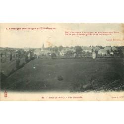 63 AVEZE. Vue sur le Village 1908