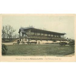 2 Cpa 78 MAISONS-LAFFITTE. Champ de Courses les Tribunes et le Pesage 1915 et 1926