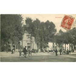 3 Cpa 78 VERSAILLES Avenue de Paris 1908, Hôpital Militaire et Hôtel Trianon Palace 1915