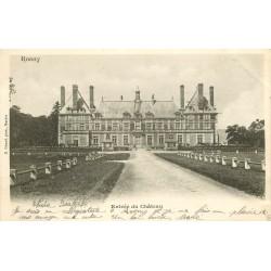 78 ROSNY SUR SEINE. Entrée du Château 1904
