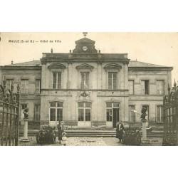 78 MAULE. Hôtel de Ville 1937