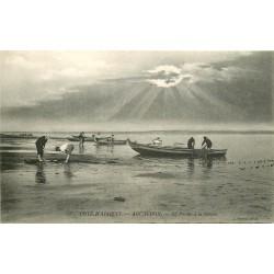 33 ARCACHON. La Pêche à la Senne au crépuscule