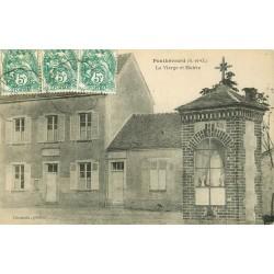 78 PONTHEVRARD. La Vierge et Mairie 1925