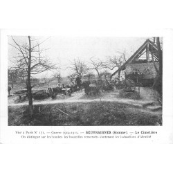 80 BEUVRAIGNES. Le Cimetière Guerre 1914-15