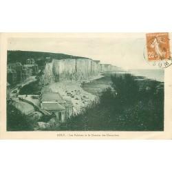 80 AULT. Chemin des Douaniers sur les Falaises 1926