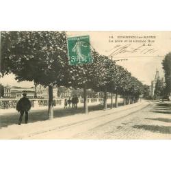 95 ENGHIEN-LES-BAINS. Jetée et Grande Rue 1911