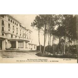 83 SAINTE-MAXIME-SUR-MER. Le Golf Hôtel